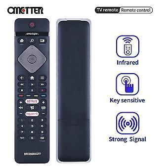 Potrivit pentru telecomanda Philips Smart TV Brc0884402-01 398gr10bephn0017bc cu Netflix