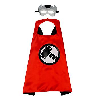 Kinder Superhelden Kostüm Halloween Kostüm Umhang Party Requisiten-thor A
