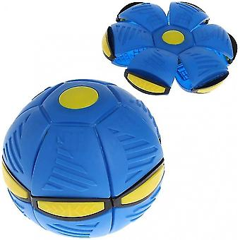 Soucoupe ovni lumineuse Boule déformée Flying Flat Throw Disc Ball Frisbee Outdoor Sports Game Jouer