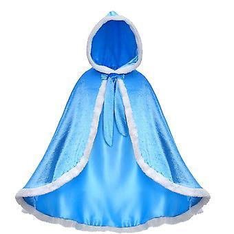 Princezná Aisha Kapucňa Cape Plášť kostým pre dievčatá zdobiť