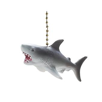 Jaws Great White Shark Decorative Ceiling Fan or Light Pull 3 Dimensional