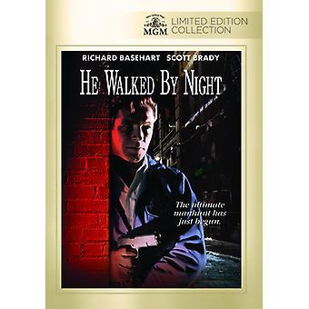 Han gick by Night [DVD] USA import