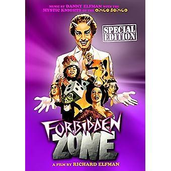 Forbidden Zone [DVD] USA import