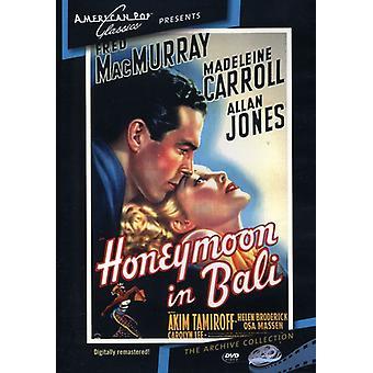 En la importación de los E.e.u.u. [DVD] (1939) de Bali de luna de miel