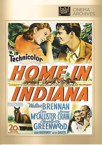 Home in Indiana [DVD] USA import