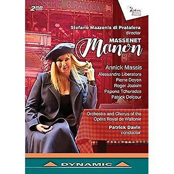 Massenet / Massis / Liberatore / Davin - Massenet: Manon [DVD] USA import