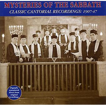 Mystery of the Sabbath - Classic Cantorial Recordings [CD] USA import