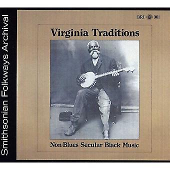 Importer des Traditions Virginie - USA Non-Blues musique profane de noir [CD]
