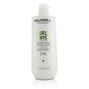 Goldwell Dual Senses Curly Twist Hydrating Shampoo (elasticity For Curly Hair) - 1000ml/33.8oz