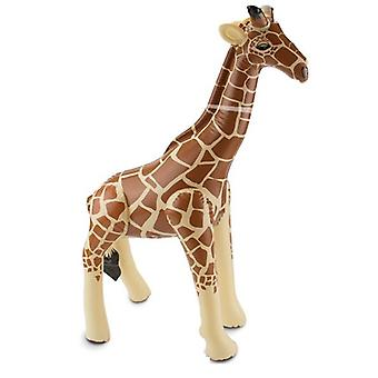 Girafe gonflable girafe gonflable de jungle Aufblastier 74 x 65 cm