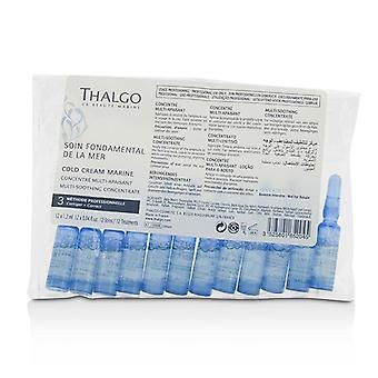 Thalgo Cold Cream Marine multi-lugnande koncentrat-för torr känslig hud (Salon storlek; I förpackningen)-12x 1,2 ml/0,04 oz