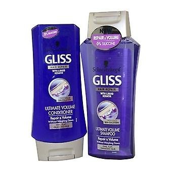 Gliss شوارزكوف الشعر إصلاح وحدة التخزين النهائي