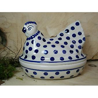 Chicken as egg, 2nd choice, 17 x 11 cm, 14 cm high, traditional 24 - BSN 22644