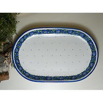Plate, 23 x 15 cm, unique - BSN 6572