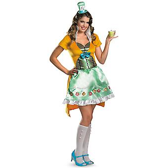 Mad Hatter Disney Classic Alice In Wonderland Story Book Week Women Costume