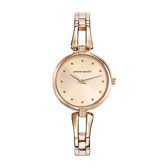 Pierre Cardin damski zegarek zegarek Pleyel femme PC107582F04 różowe