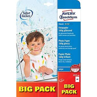Avery-Zweckform Classic Photo Paper Inkjet 2573-60 Photo paper A4 160 g/m² 60 sheet Glossy