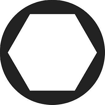 TOOLCRAFT 812858 Hexagonal nuts M5 DIN 934 Brass 100 pc(s)