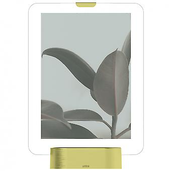 "Umbra Glo Frame 5 X 7"" Photo Display Matt Brass"