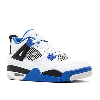 Air Jordan 4 Retro Bg (Gs) 'Motor Sport' - 408452-117 - Shoes