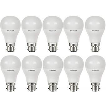 10 x Sylvania ToLEDo GLS B22 5.5W Homelight LED 470lm [Energy Class A+]
