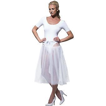1950's Petticoat, WHITE