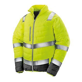 Resultatet Safeguard Herre Soft polstret sikkerhed jakke