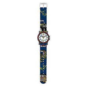 Scout kind horloge leren IT-collectie - jungle jonge 280375016
