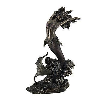 Ocean Goddess Yemaya Mother of the Seas Bronze Finish Statue