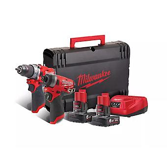Milwaukee M12FPP2A-602X M12 FUEL Cordless Twin Pack