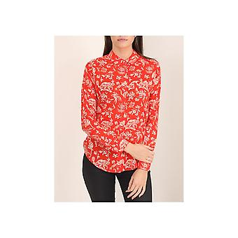 Maison Scotch Animal Sketch Drapey Shirt