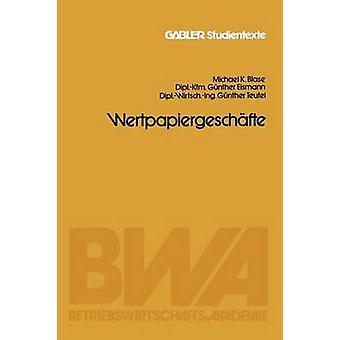 Blase & マイケル・ K による Wertpapiergeschafte