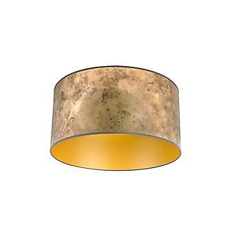 QAZQA sombra 50/50/25 Bronze com ouro envelhecido