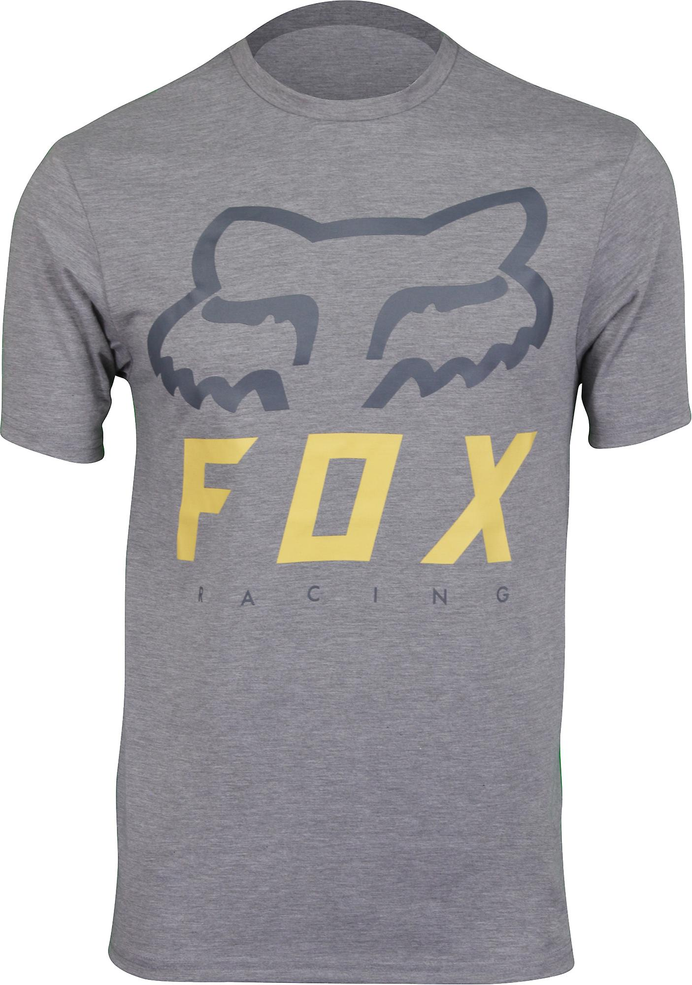 Fox Racing miesten Heritage Forger SS Tech tee-Heather grafiitti
