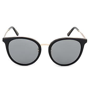 نظارات شمسيه بيضاوية غوتشي GG0204SK 001 56