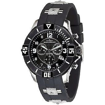 Zeno-watch mens watch cronografo al quarzo 1 5430Q-SBK-h1