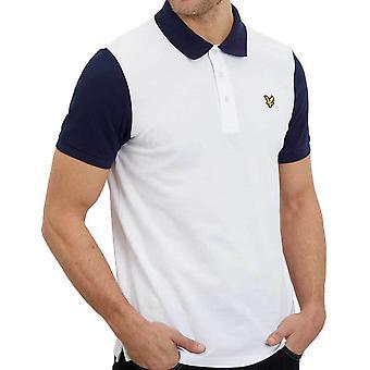 ライル & スコット メンズ リンガー半袖ポロシャツ SP1005V