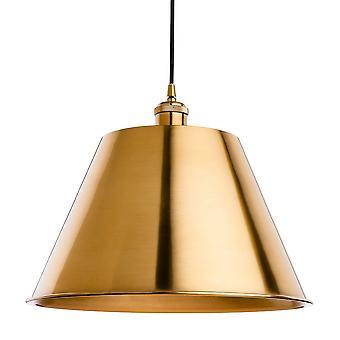 Erstlicht-1 Light Ceiling Pendant Antique Gold-4873AG