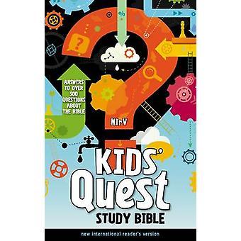 NIrV Kids ' Quest Studiebijbel-antwoorden op meer dan 500 vragen over de