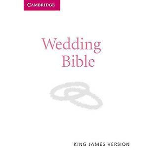 KJV Wedding Bible KJ12W White Imitation Leather - 9780521696104 Book