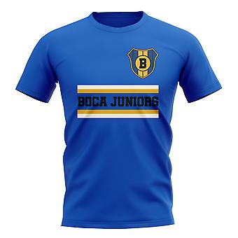 Boca Juniors Core Football Club T-Shirt (Royal)