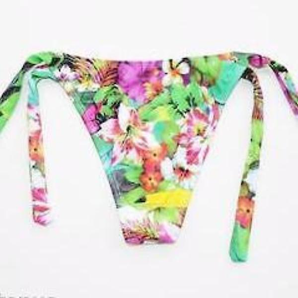 Buzios Bikinis, Tropical Thong - Tie Sides