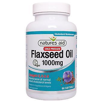 Nature's Aid Flaxseed Oil 1000mg Softgels 90 (16820)