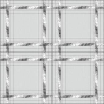 Vérifier fond d'écran vérifié Plaid Tartan Chequered Lined Grey Charcoal Holden Decor