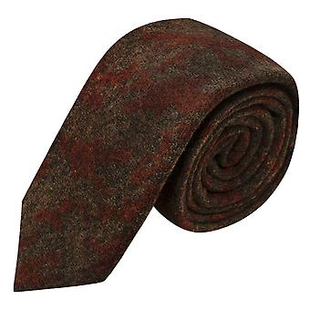 Luxury Persian Dark Amber Pattern Tie
