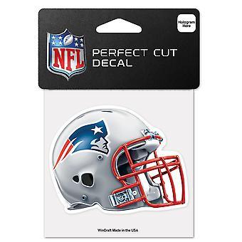 وينكرافت خوذة ملصقا 10x10cm - NFL نيو انغلاند باتريوتس