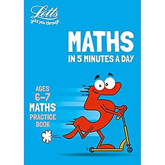 Letts Maths in 5 Minutes a Day - Letts Maths in 5� Minutes a Day Age 6-7 (Letts Maths in 5 Minutes a Day)