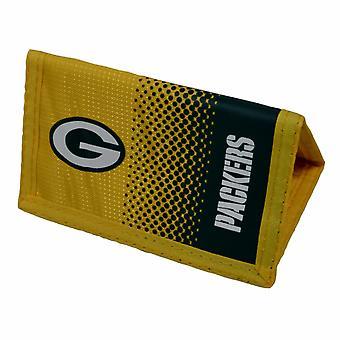 Green Bay Packers offizielle NFL Crest Design verblassen Brieftasche
