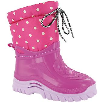 Miscellaneous Other Kids Flurry Junior Warmlined Boot Pink
