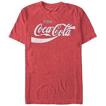 Coca-Cola des années 80 de Coke T-Shirt rouge